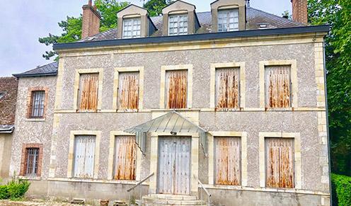 Combleux - Chateau ancien
